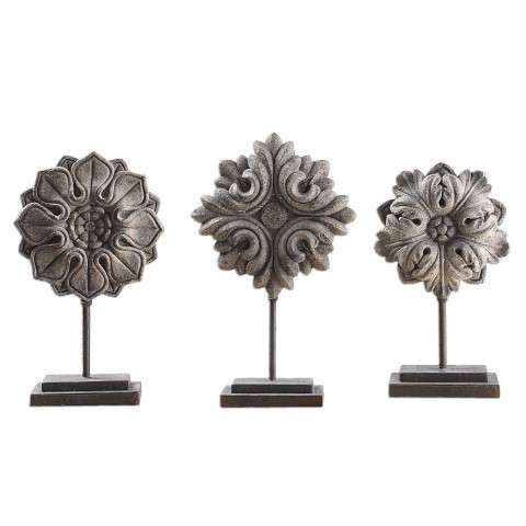 Uttermost Alarik Aged Ivory Florals - S/3