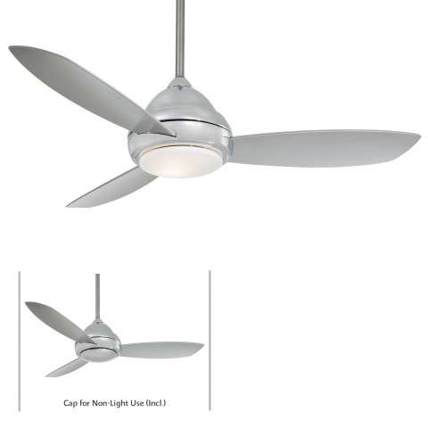 "Minka Aire 52"" Concept I Indoor Only in Polished Nickel"