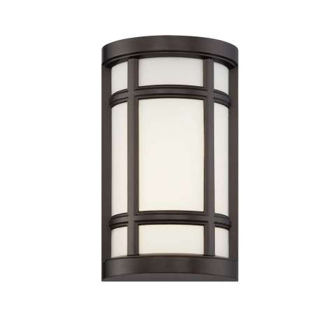 Logan Square LED Wall Sconce in Burnished Bronze