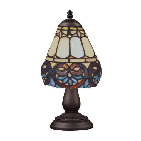 Elk Lighting 080-TB-21 Mix And Match Section Tiffany Bronze Table Lamp