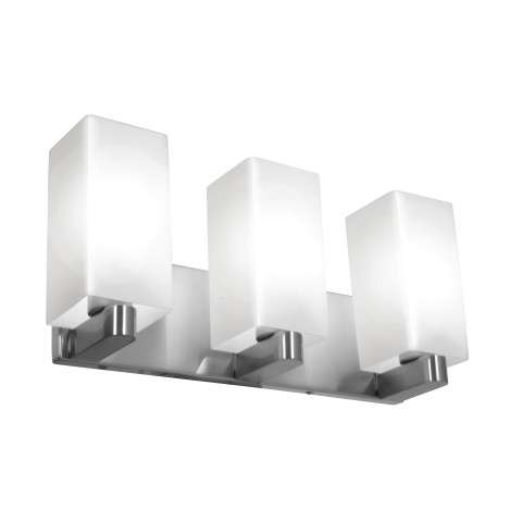 Access Lighting 50177-BS/OPL Archi Wall/Vanity Fixturesin Brushed Steel finish with Opal glass