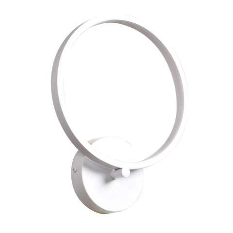 Eternal Circular Dimmable LED Wall Fixture in White (WH) with Acrylic Lens (ACR) Diffuser