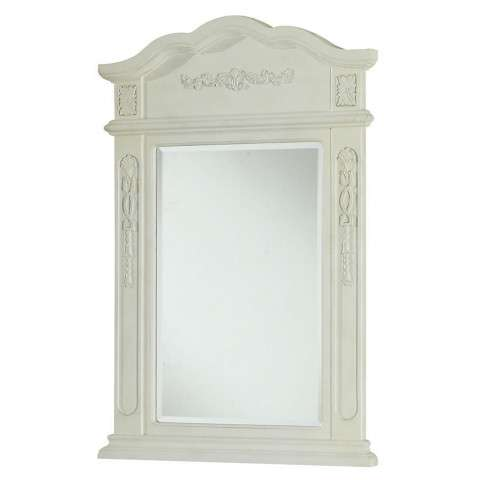 "Vanity Mirror 24"" x 36"" Antique White"