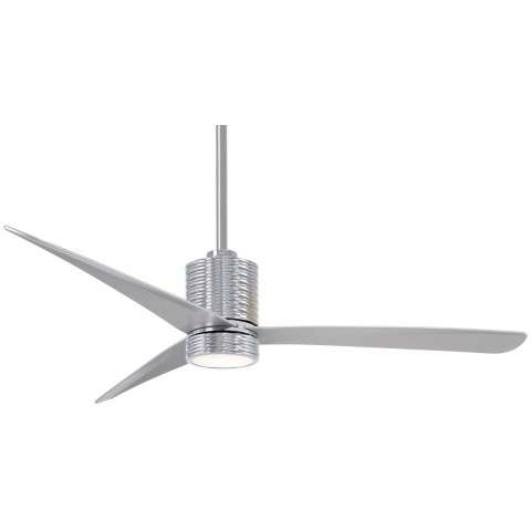 "Mojave 56"" LED Ceiling Fan In Chrome"