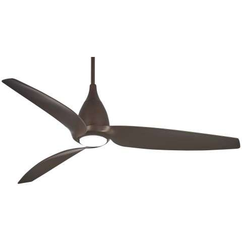 "Tear 60"" LED Ceiling Fan In Oil Rubbed Bronze"