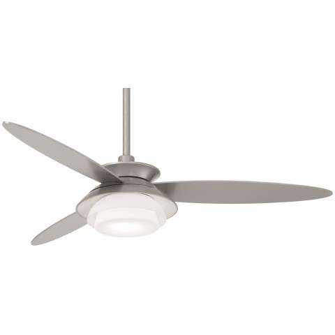 "Stack 56"" LED Ceiling Fan In Silver"