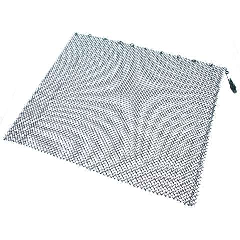 "Single Panel Black Replacement Mesh - 48"" Wide x 24"" Tall"
