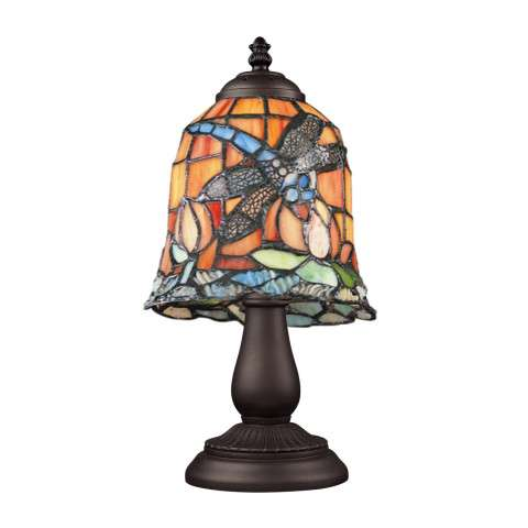 Elk Lighting 080-TB-12 Mix And Match Section Tiffany Bronze Table Lamp