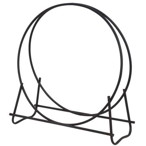 "Uniflame W-1881 Black 40"" Diameter Log Hoop"