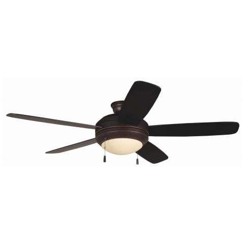 Craftmade Helios LED Ceiling Fan Model HE52OBG5-LED in Oiled Bronze Gilded