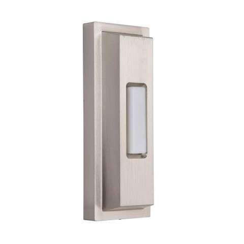 Surface Mount Stepped Rectangle in Brushed Polished Nickel
