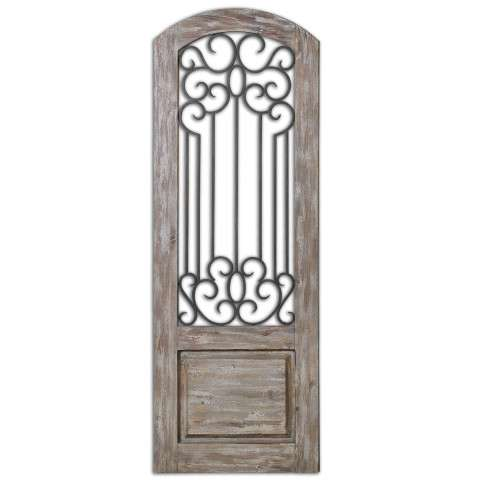 Uttermost Mulino Distresed Wall Panel