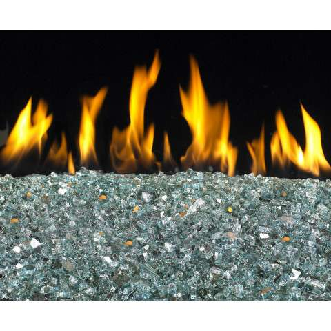 Azuria Fireplace Reflective Glass Crystals - 7.5lb bag