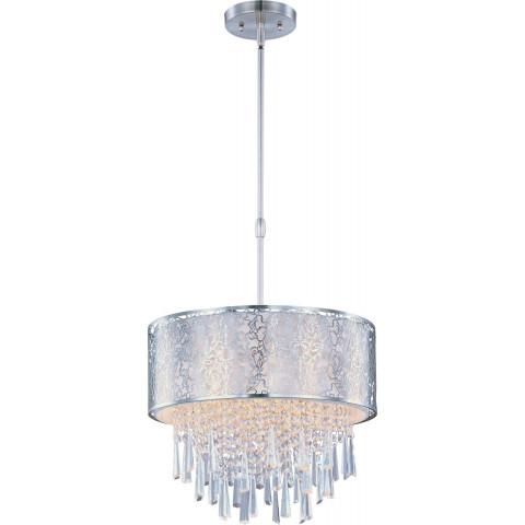 Maxim 22294WTSN Rapture 5-Light Pendant in Satin Nickel.