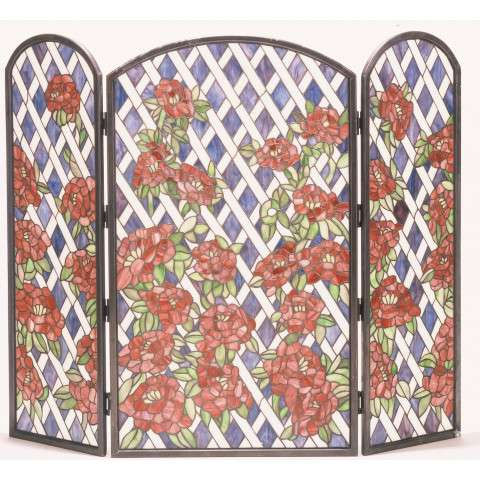 "Tiffany Rose Trellis - 40"" Wide x 34"" Tall"