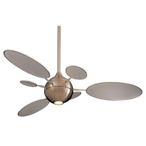 Minka Aire Cirque Ceiling Fan Model F596-BN in Brushed Nickel