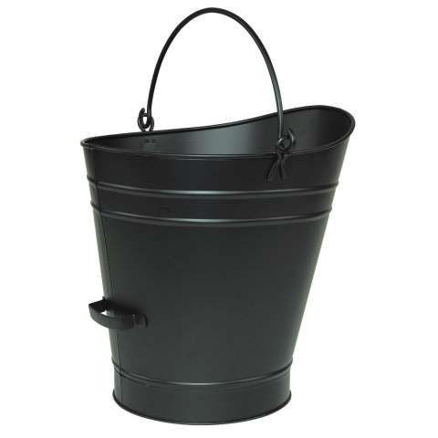 Black Coal Hod / Pellet Bucket