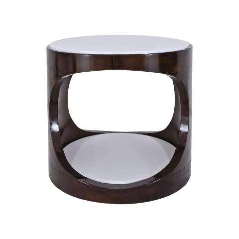 Mister Mod Side Table in Turret Finish