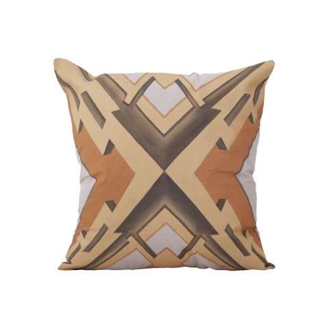 Art Deco Graphic Pillow Cover Only - Handpainted Art