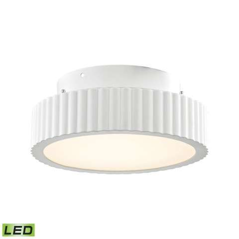 Digby 10 Watt LED Flushmount In Matte White