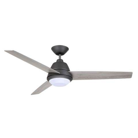 Emerson CF370GRT Geode 52 Inch Ceiling Fan in Graphite with Timber Gray Blades