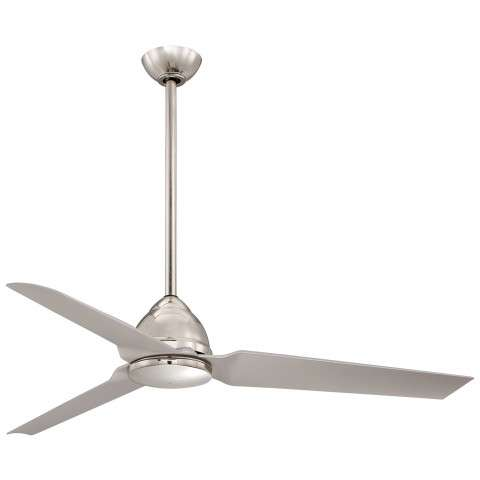 "Minka Aire 54"" Java in Polished Nickel"