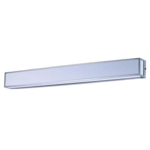 Vanity LED Bath Vanity in Satin Nickel