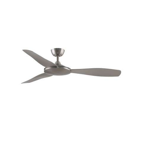 Fanimation FPD8520BNBN GlideAire 52 Inch Ceiling Fan in Brushed Nickel with Brushed Nickel Blades