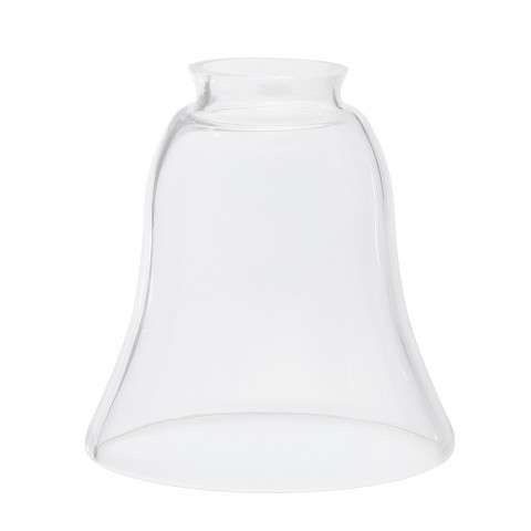 Ceiling fan glass shade model G4CL Clear Bell Shaped Glass for 2.25 Fitters from Fanimation.