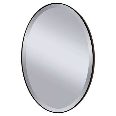 Murray Feiss MR1126ORB Johnson Mirrors in Oil Rubbed Bronze finish with Clear Glass