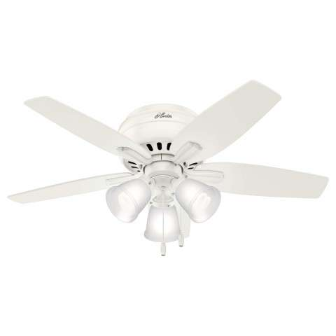 """Newsome Collection 42""""Low Profile 3-light Fresh White"""