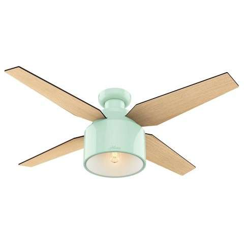 """Cranbrook Collection - 52"""" Mint Green Low Profile"""
