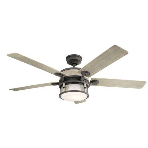 Ahrendale 60 Inch Ahrendale Fan in Weathered Zinc