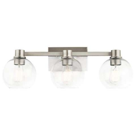 Harmony Transitional Bath 3Lt In Brushed Nickel