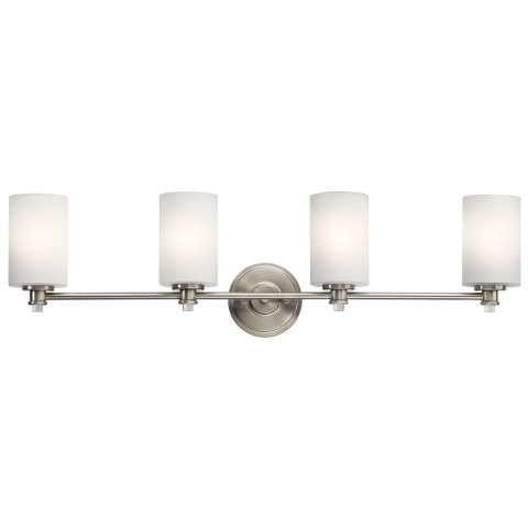 Joelson Bath 4 Light in Brushed Nickel