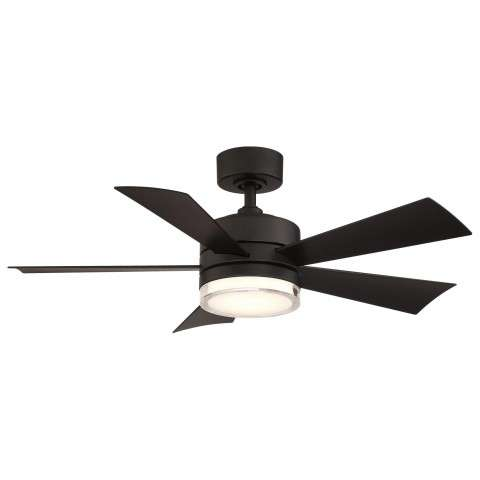 FR-W1801-42L-MB Modern Forms Wynd 42 Inch DC Smart Ceiling Fan