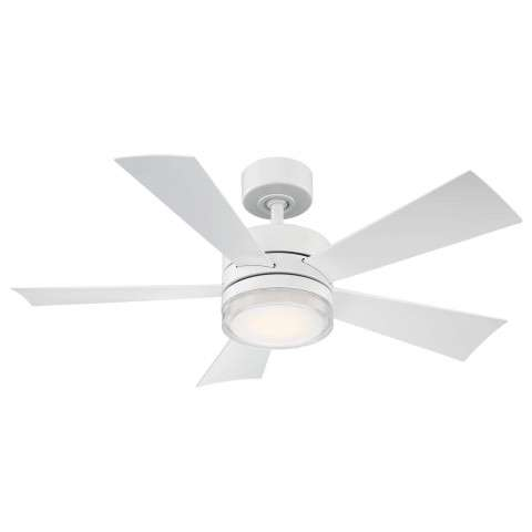 FR-W1801-42L-MW Modern Forms Wynd 42 Inch DC Smart Ceiling Fan