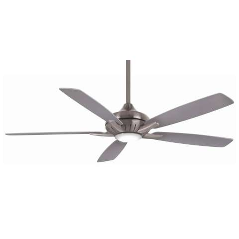Minka Aire F1001-BN/SL 60 Inch Dyno XL Ceiling Fan in Brushed Nickel