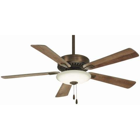 Minka Aire Contractor Unipack LED Ceiling Fan Model F656L-HBZ in Heirloom Bronze