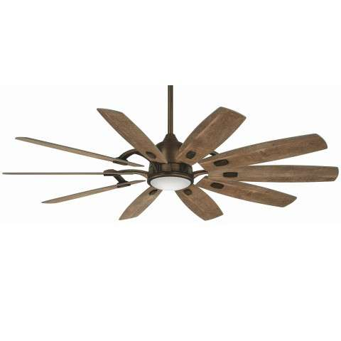 Minka Aire F864L-HBZ Barn Ceiling Fan in Heirloom Bronze