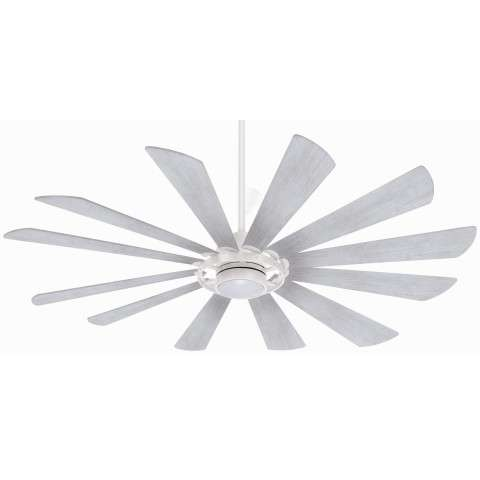 Minka Aire F870L-TW 65 Inch Windmolen Ceiling Fan in Textured White