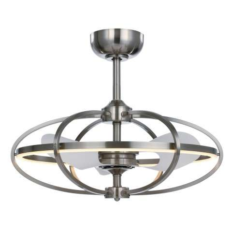 Maxim 60002SN Corona LED Fandelier in Satin Nickel