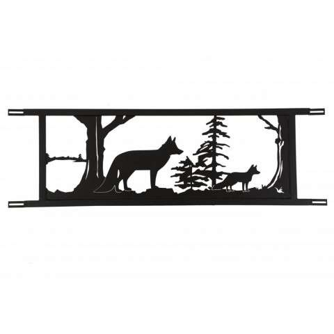 "94.5""W Neversink Bridge Fox Decor"
