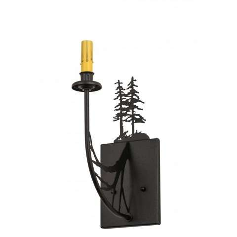 "5""W Tall Pines Wall Sconce"