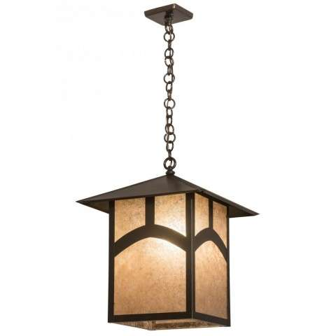 "16""Sq Seneca Hill Top Pendant"