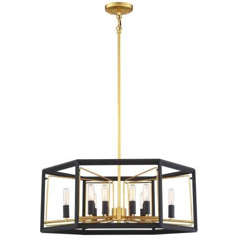 Sable Point 12 Light Pendant