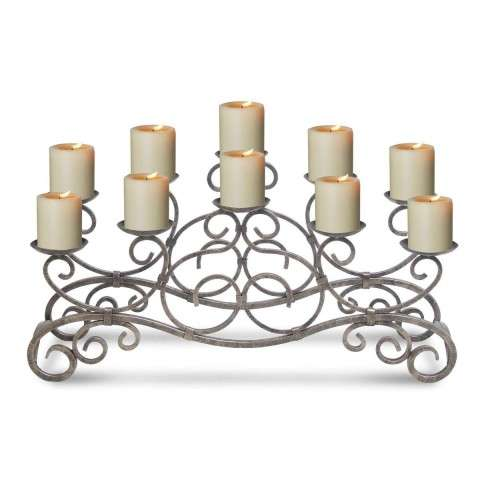 Pilgrim Brighton Candelabra - Distressed Bronze