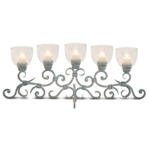 Pilgrim Ellington Candelabra - Weathered Patina