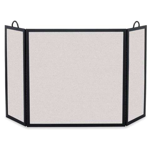 "3 Fold Fireplace Screen - 46"" Wide x 30"" Tall"