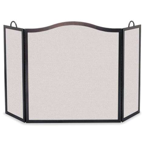 "3 Fold Fireplace Screen - 46"" Wide x 29"" Tall"